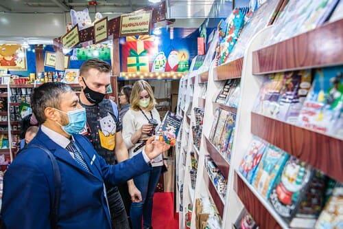 Посетители выставки WorldFood Moscow 2020