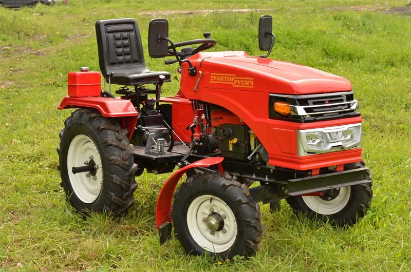 Русич мини трактор