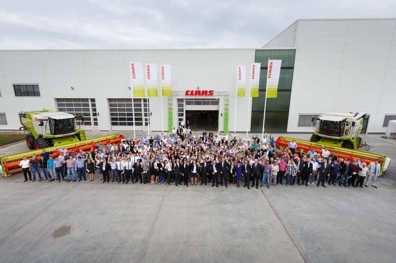 Завод CLAAS в Краснодаре, ЮГАГРО выставка сельскохозяйственной техники