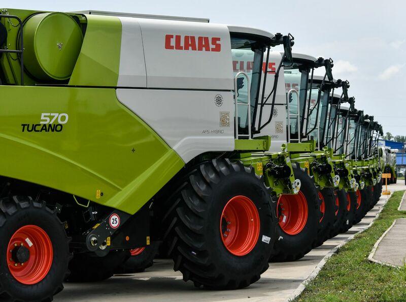 выставка сельхозтехники ЮГАГРО 2020 сельхозтехника CLAAS