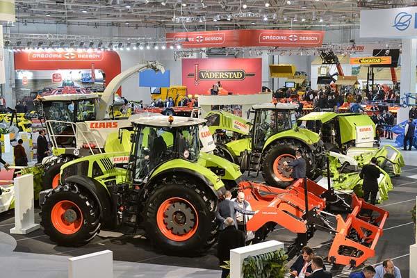 CLAAS tractors at YugAgro