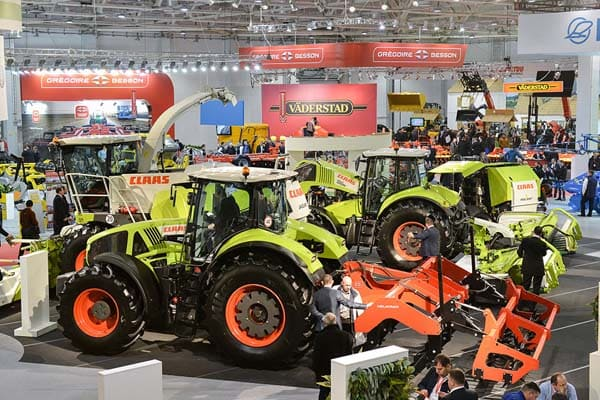 CLAAS tractors at YugAgro