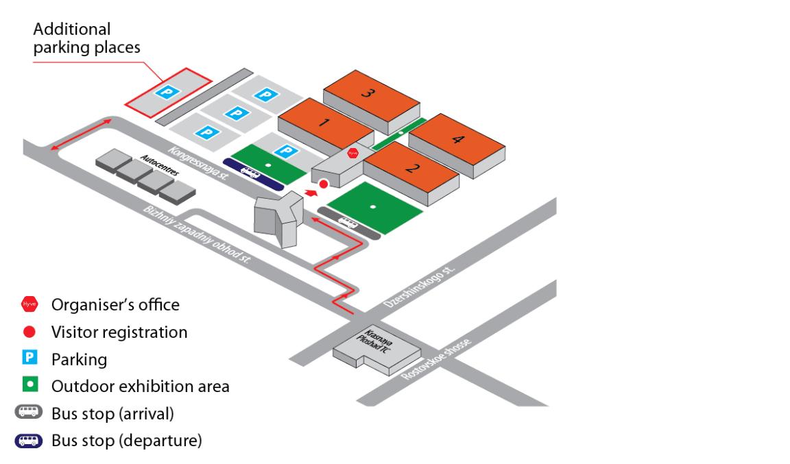 YugAgro agricultural trade show venue